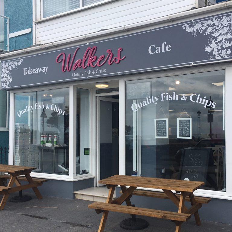 Walker's Shop Front Signage